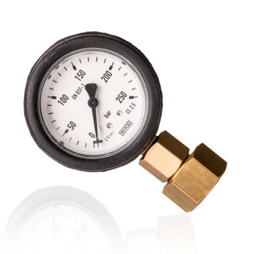 Lämmastiku kontrollmanomeeter 200 bar