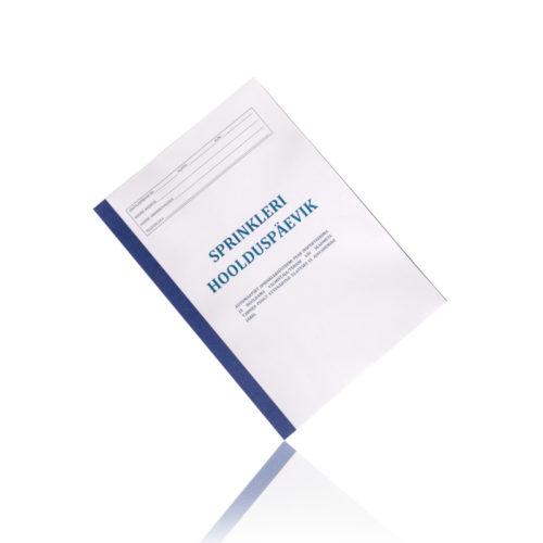 Sprinklersüsteemi hoolduspäevik